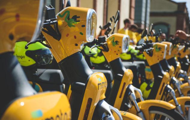 Sharing mobility Torino: gli scooter di MiMoto