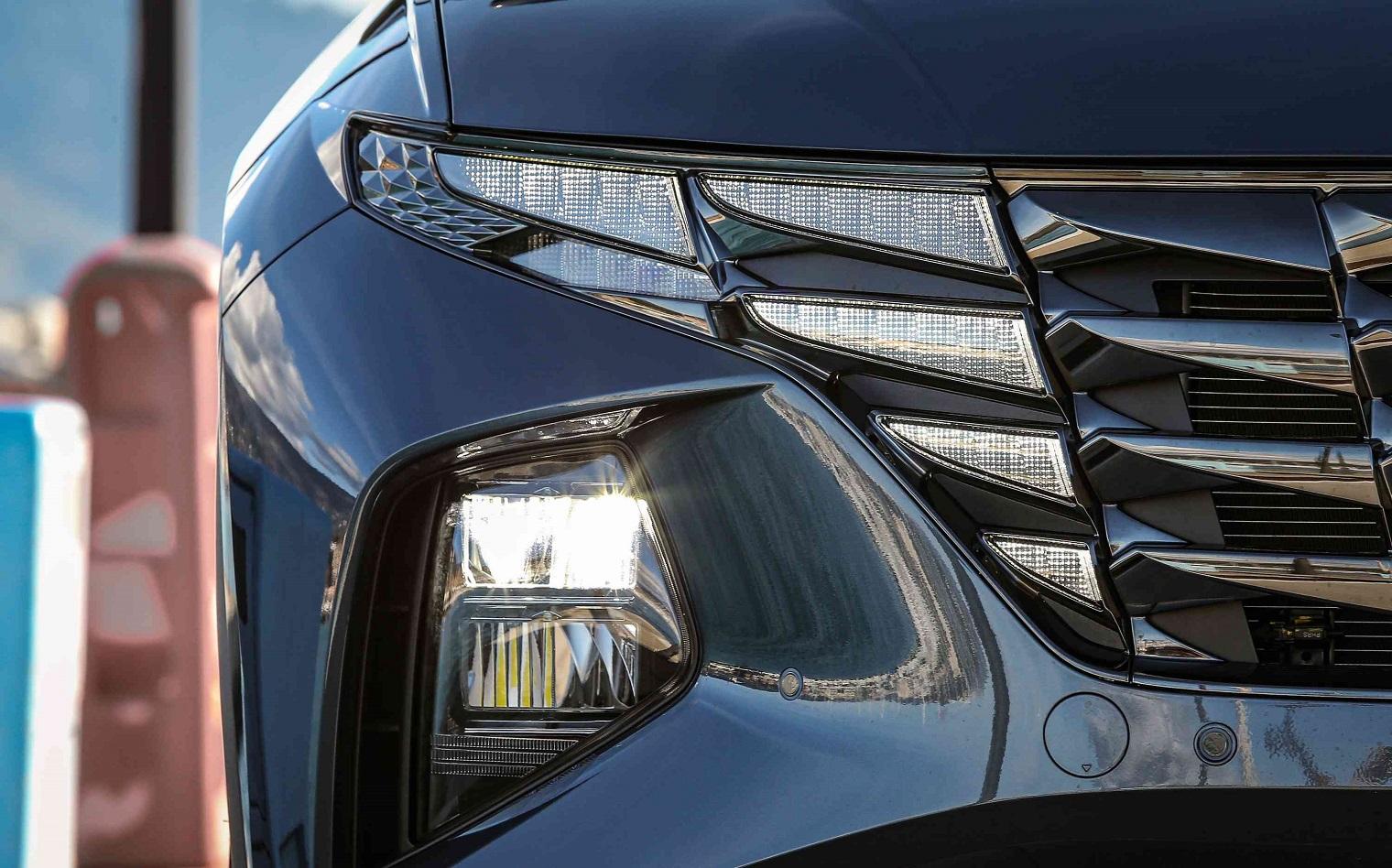 Nuova Hyundai Tucson Parametric Design