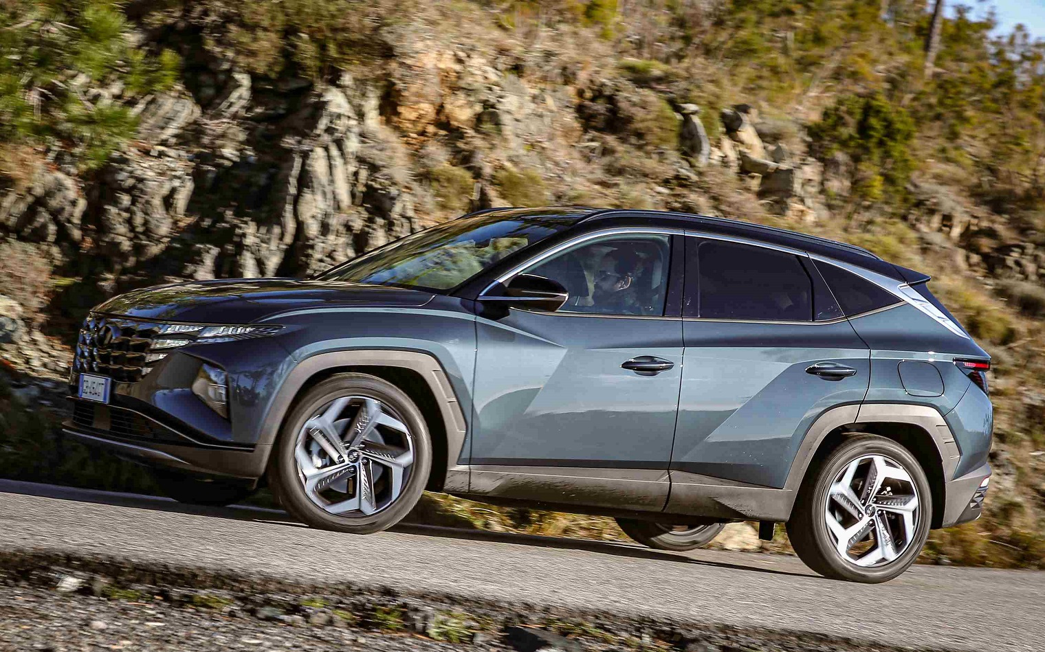 Nuova Hyundai Tucson dinamica