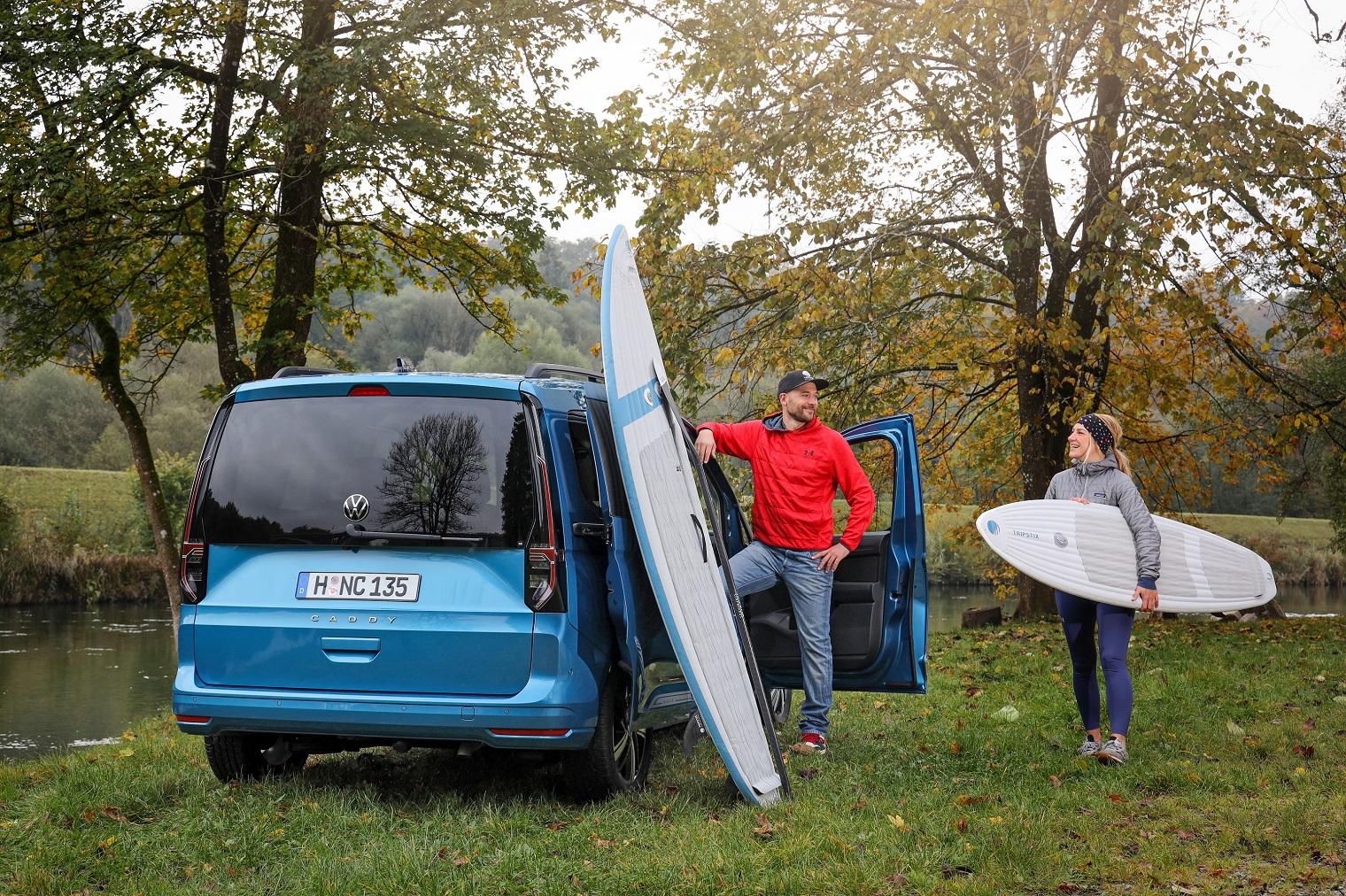Nuovo Volkswagen Caddy trasporto persone