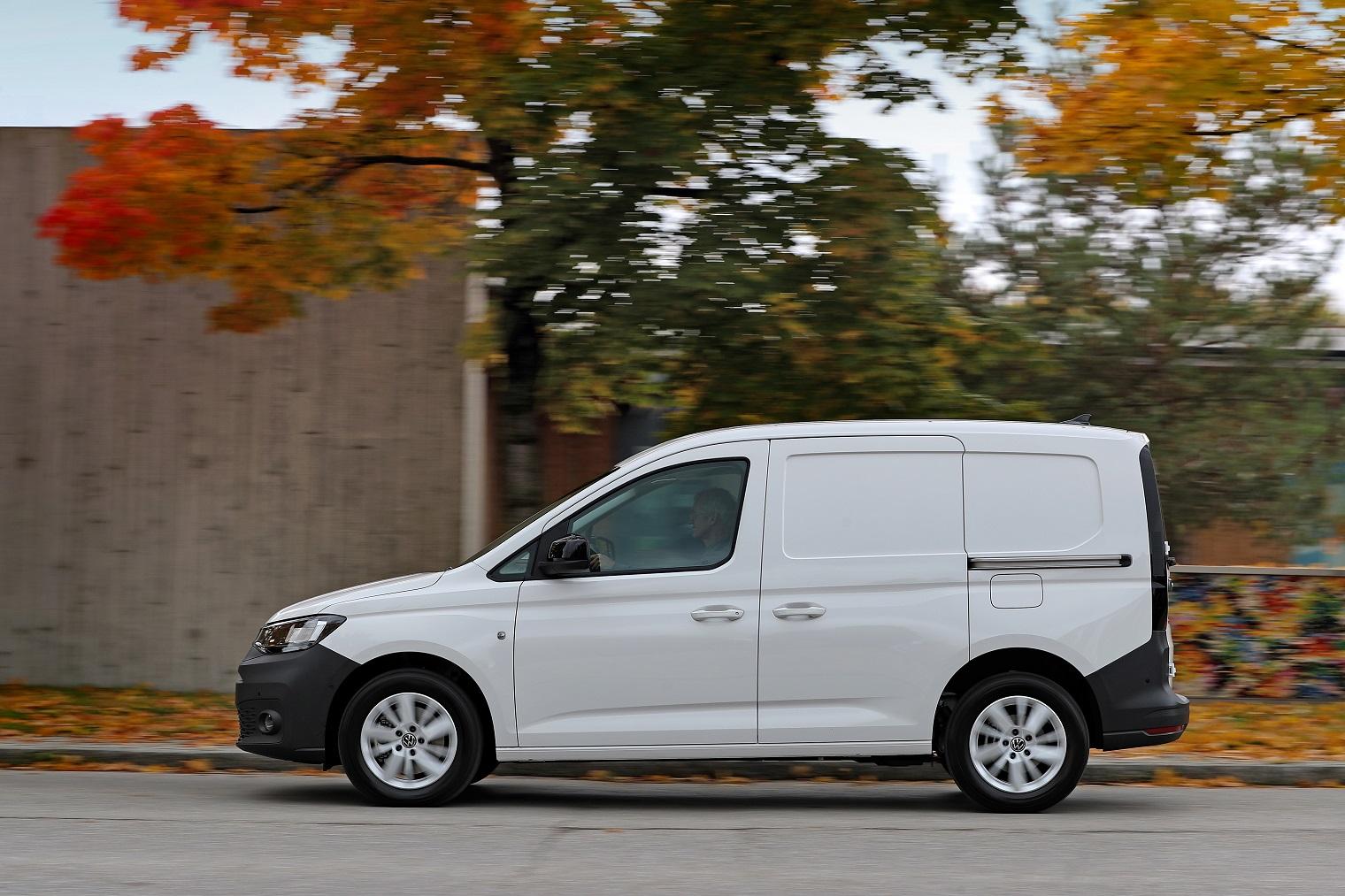 Profilo nuovo Volkswagen Caddy Cargo