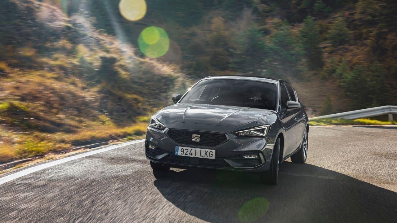 Il nuovo anteriore di Seat Leon e-Hybrid