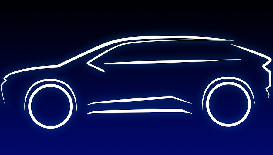 Suv elettrico Toyota