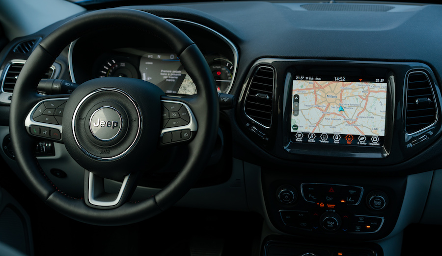 Uconnect Jeep 4xe