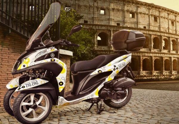 Sharing Mobility a Roma: gli scooter di Zig Zag