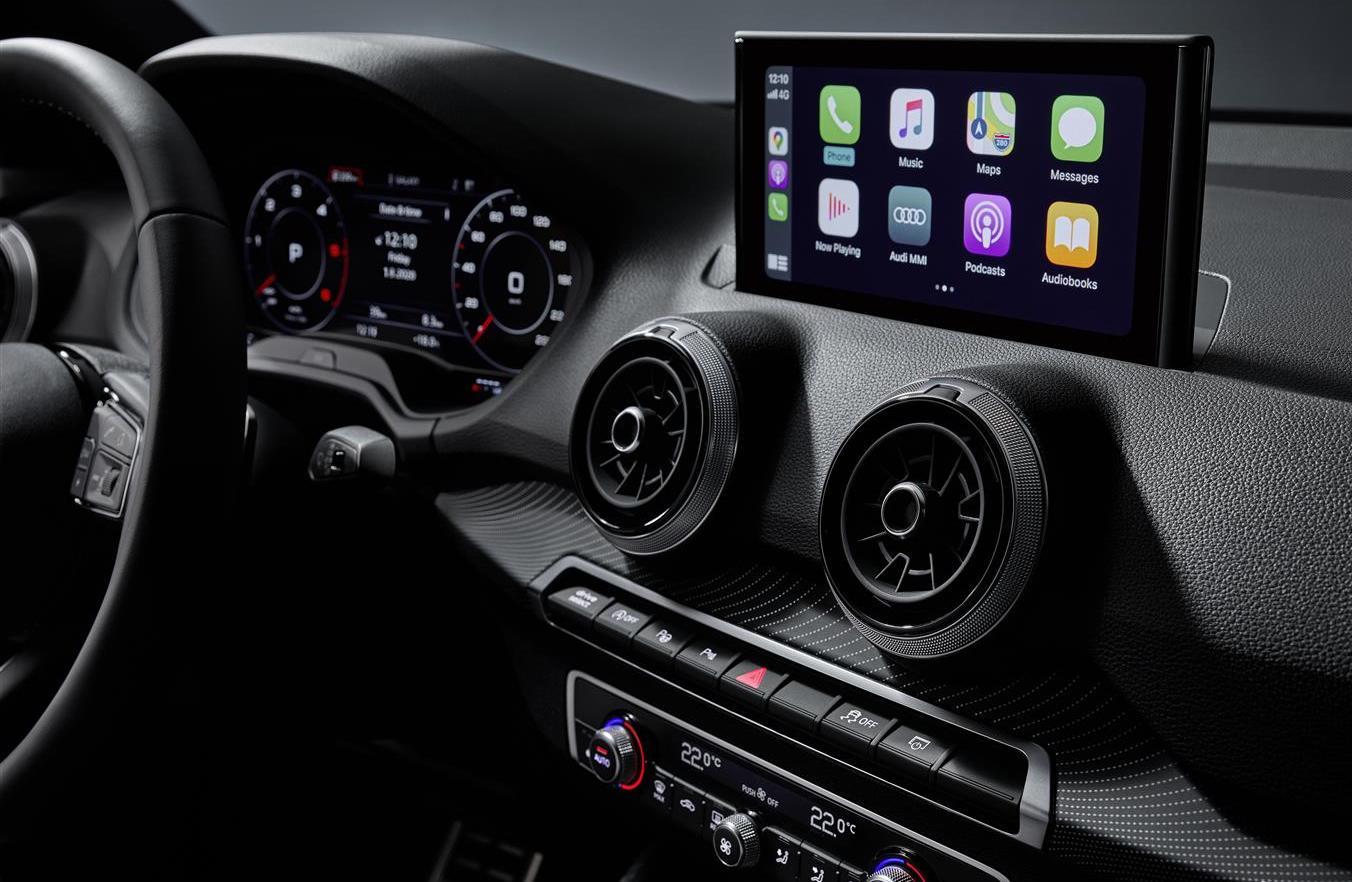 infotainment di Audi Q2