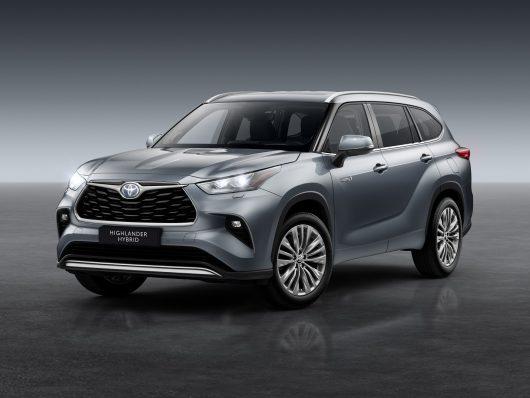 nuovo Toyota Hughlander 2021 lancio italiano