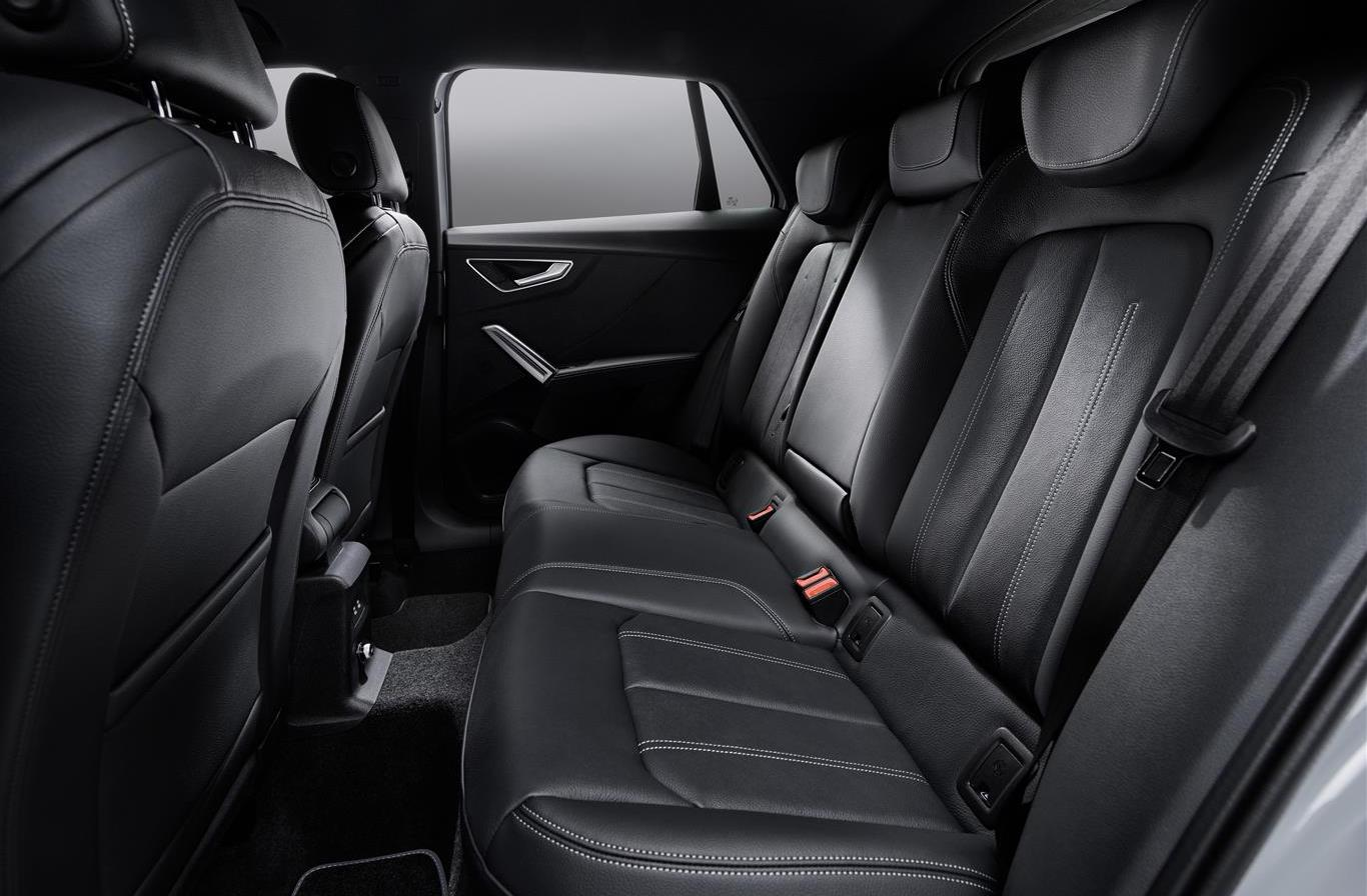 sedili posteriori di Audi Q2
