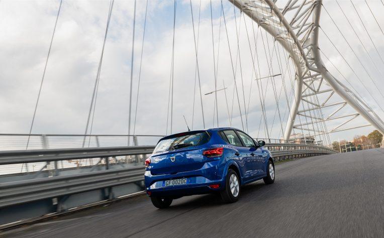 Adas nuova Dacia Sandero 2021