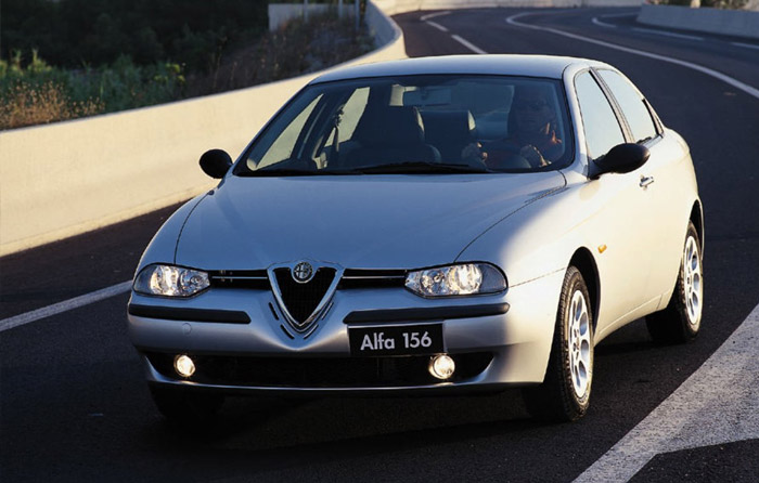 Alfa 156: Car Of The Year nel 1998