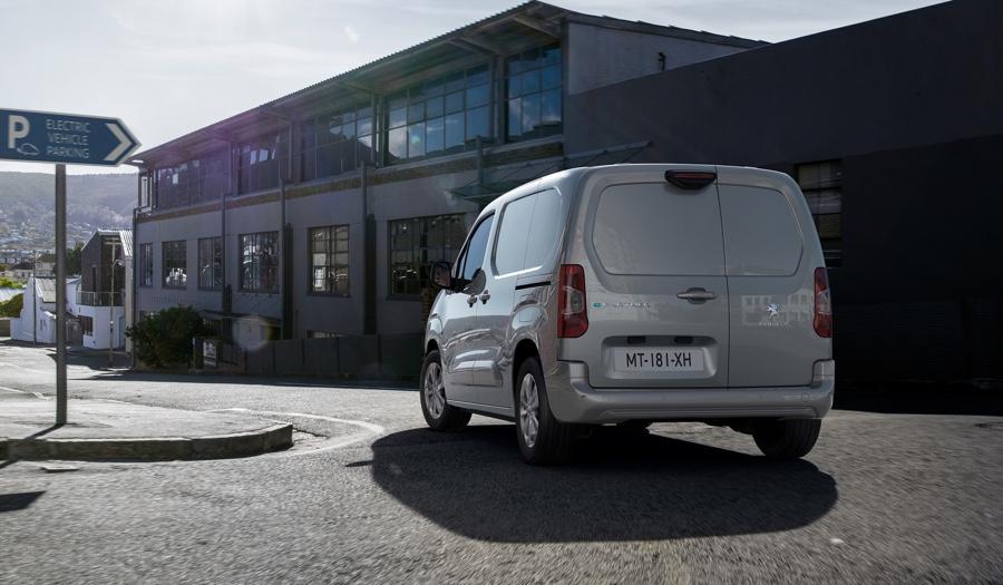 Autonomia di Peugeot Partner elettrico