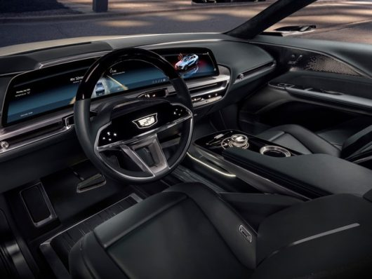 Cadillac Lyriq infotainment