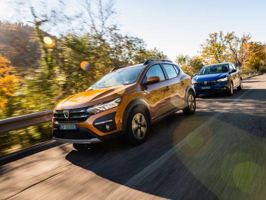 comfort di guida nuova Dacia Sandero
