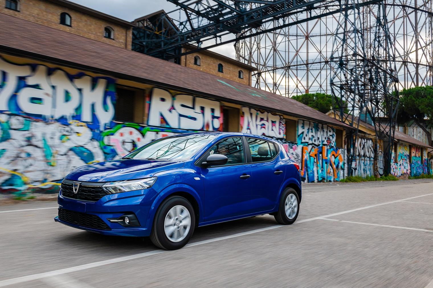 Esterni nuova Dacia Sandero 2021
