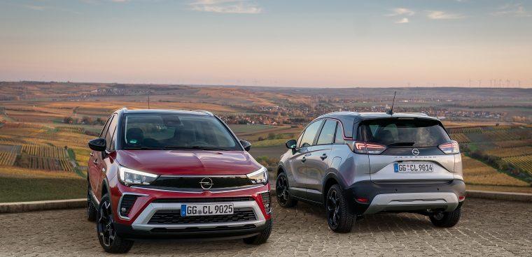Esterni nuova Opel Crossland
