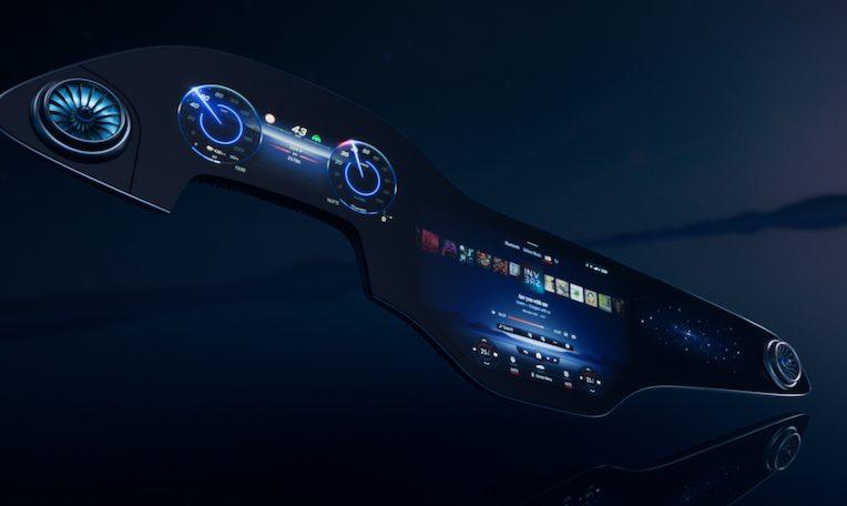 MBUX Hyperscreen al CES 2021