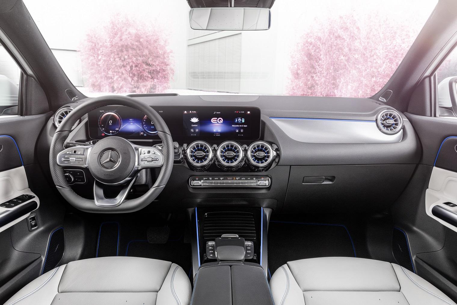 MBUX nuova Mercedes EQA
