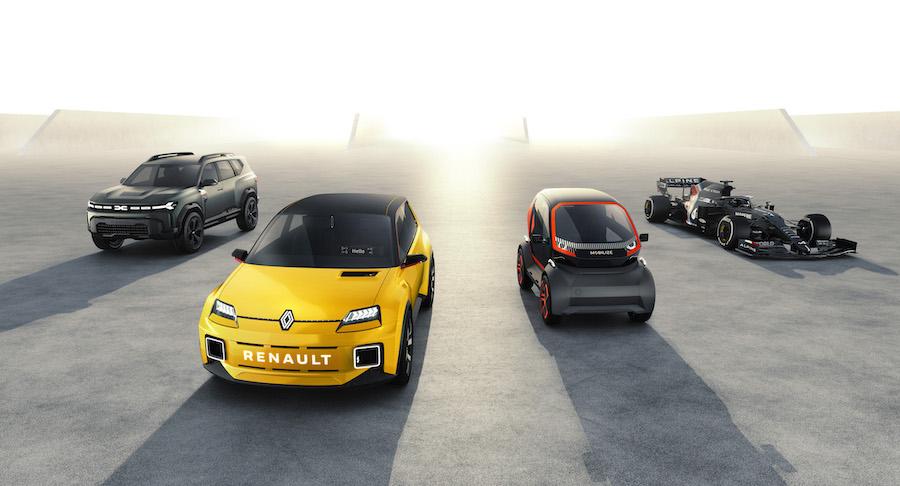 Marchi gruppo Renault 2021