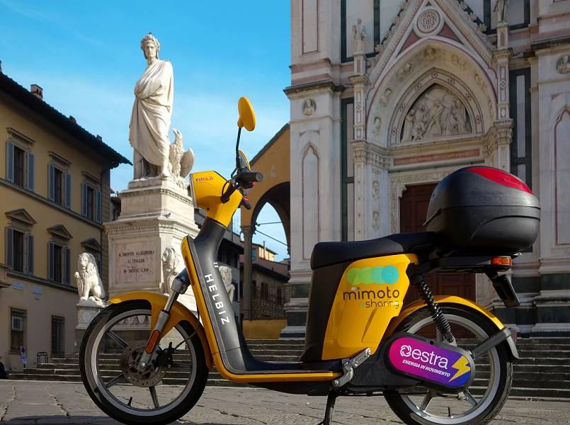 Sharing Mobility a Firenze, il servizio di MiMoto