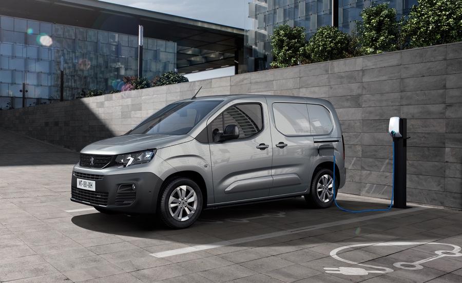 Peugeot E-Partner elettrico