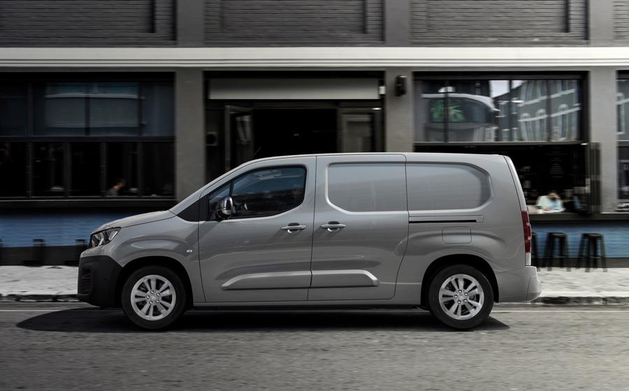 Portata e capacità di carico di Peugeot Partner elettrico