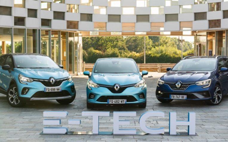 Renault E-Tech ibride ed elettriche