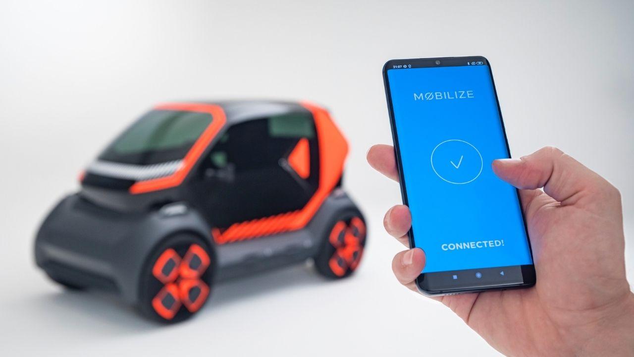 Mobilize controlla tutto tramite App
