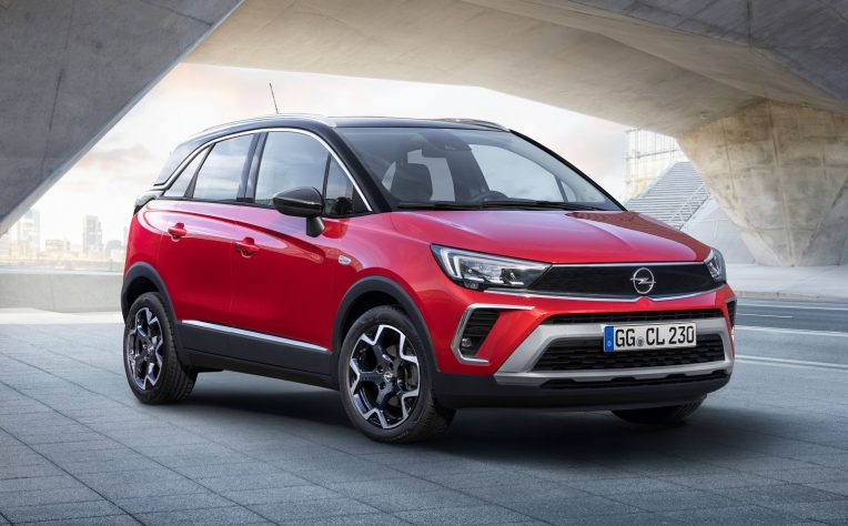 Trazione nuova Opel Crossland