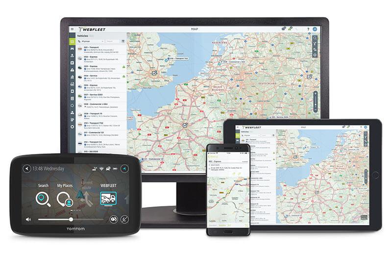 OEM.connect è il servizio di Webfleet solutions
