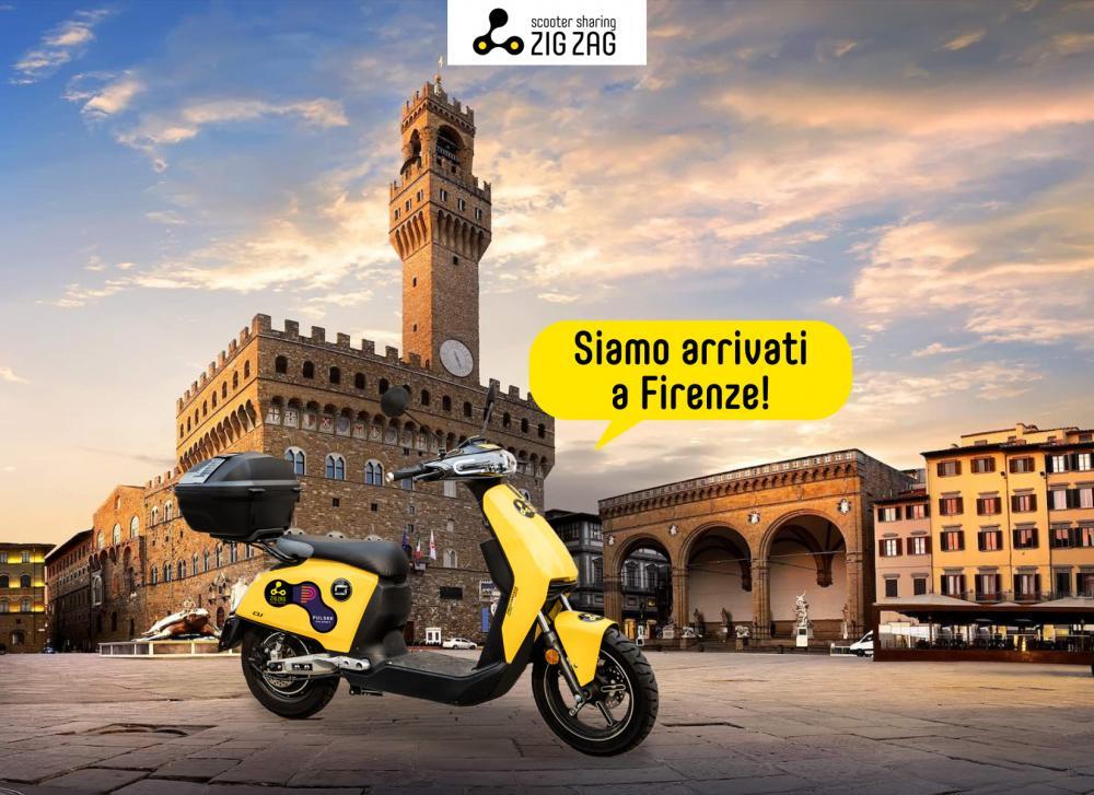 Sharing Mobility a Firenze, il servizio di Zig XZag