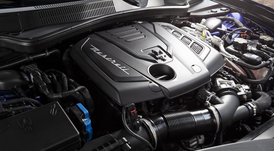 motore Maserati Ghibli Hybrid