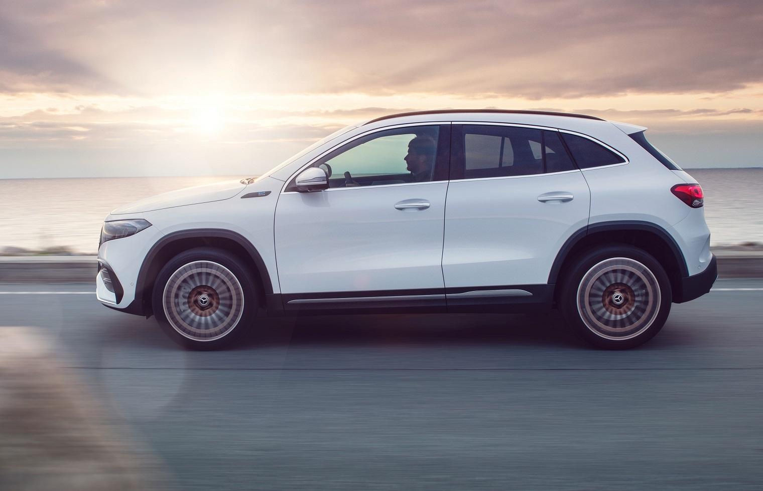 nuova Mercedes EQA mercato italiano