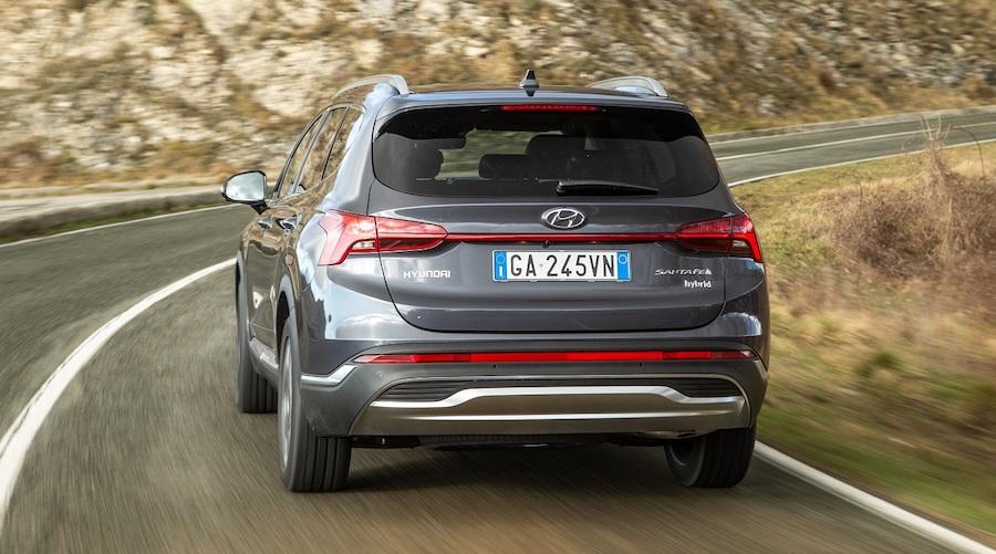 prezzo di nuova Hyundai santa Fe hybrid