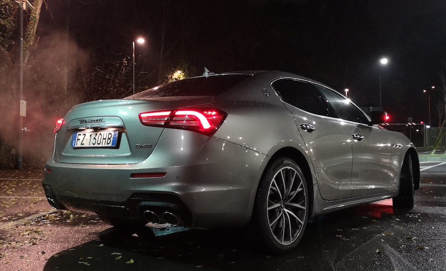 sound Maserati Ghibli Hybrid risuonatori