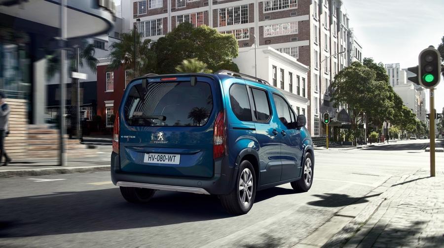 Adas di Peugeot Rifter elettrico