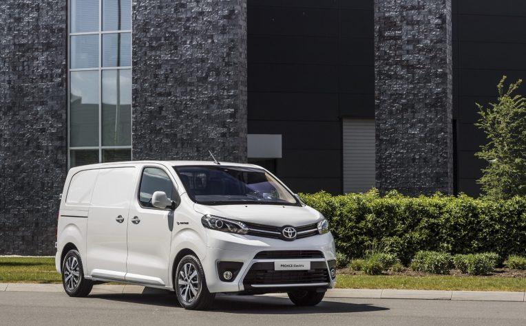 Esterni nuovo Toyota Proace Elettrico 2021