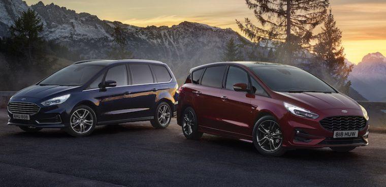 Ford S-Max Hybrid e Galaxy Hybrid