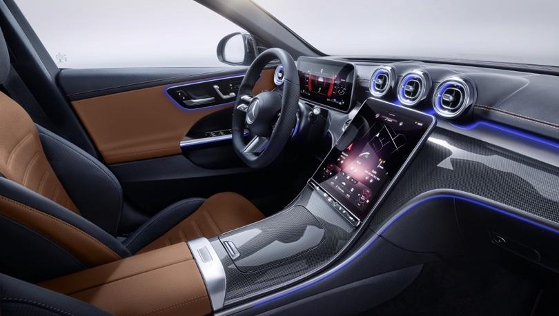 Infotainment di Nuova Mercedes Classe C 2021
