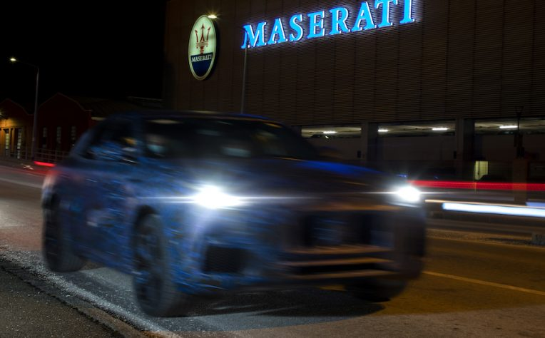 Maserati Grecale suv 2021