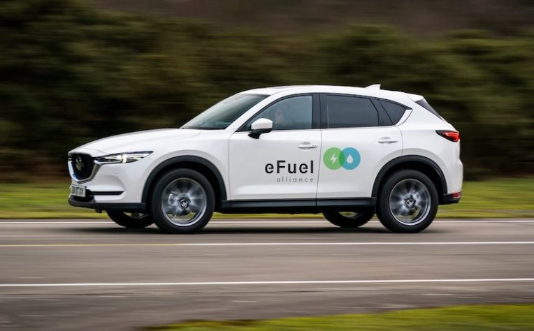 Mazda investe in eFuel Alliance