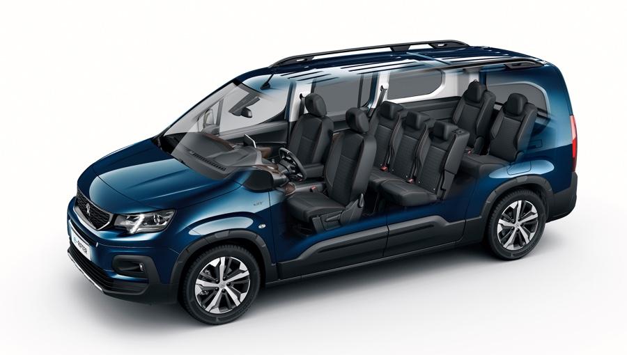 Peugeot e-Rifter 7 posti