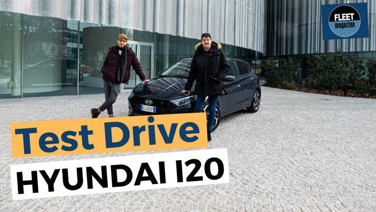 Test drive nuova Hyundai i20 2021