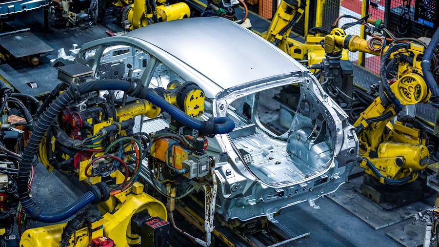 produzione auto elettrica