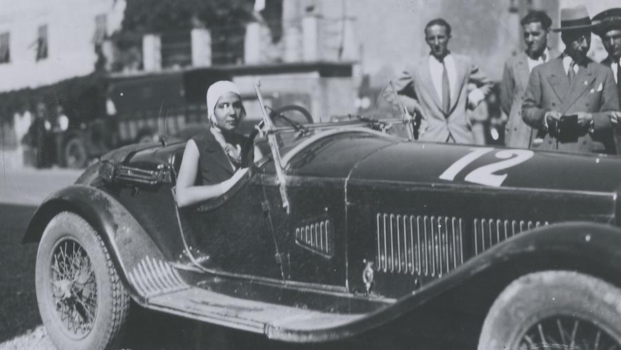 Anna Maria Peduzzi Alfa Romeo