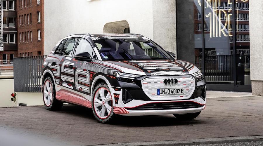 Audi Q4 e-tron elettrica
