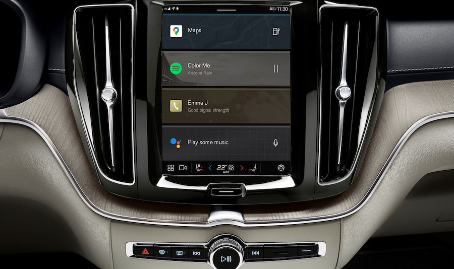 Digital Services Google Android su Volvo XC60