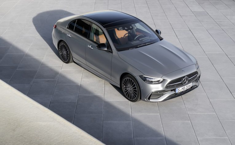 Esterni nuova Mercedes Classe C