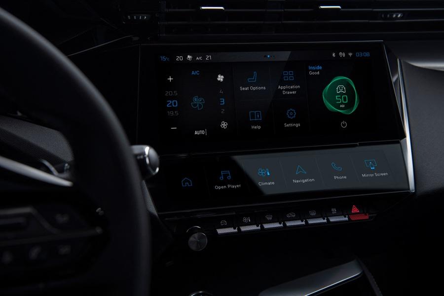 Infotainment di Nuova Peugeot 308
