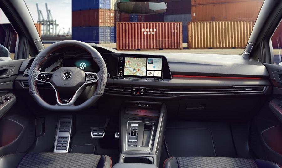 Interni di Volkswagen Golf GTI Clubsport 45