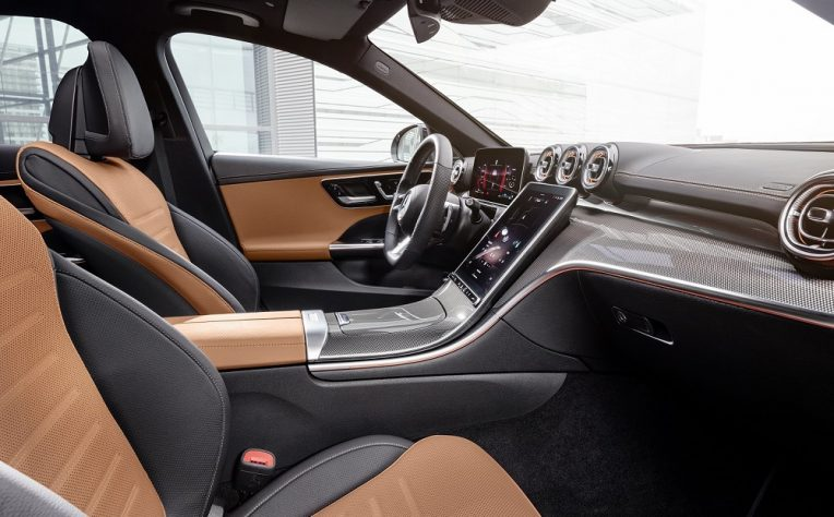 Interni nuova Mercedes Classe C 2021